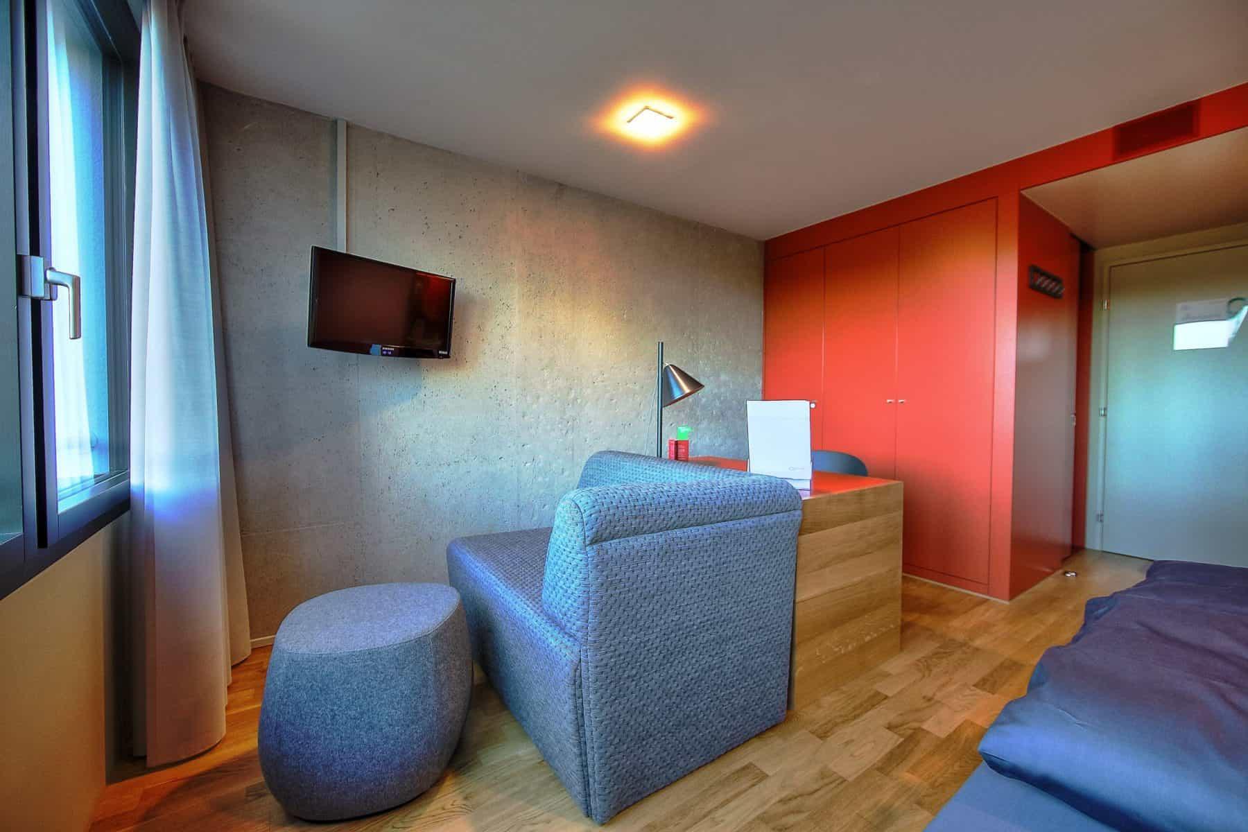 Mit seiner Sportarena und dem Seminarhotel bietet der CAMPUS SURSEE Topbedingungen für eine aktive Zeit.