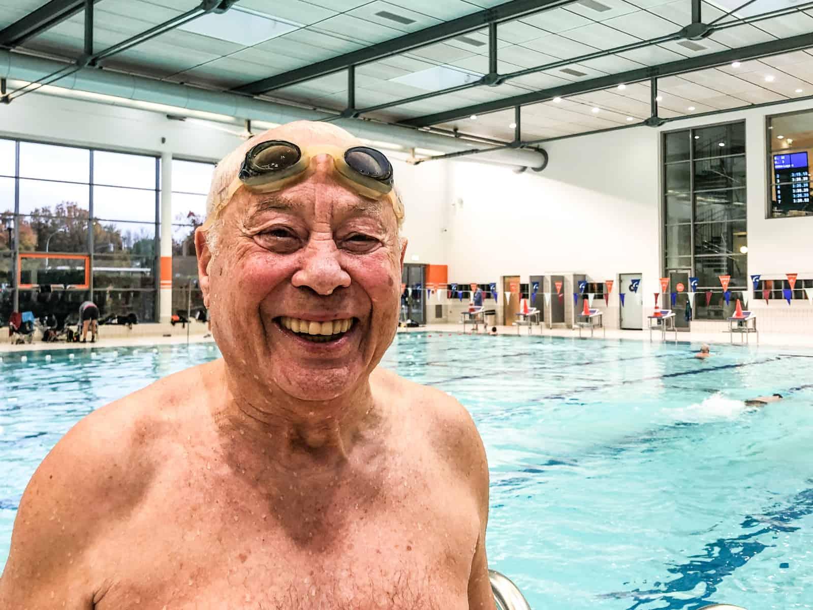 Peter Kalmar holte über 400 Meter Lagen und 800 Meter Freistil jeweils die Höchstpunktzahl von 1.250 Punkten.