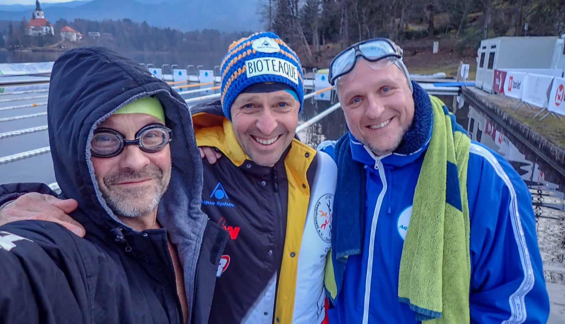 Ein Trio mit Zielen: Martin Tschepe, Christof Wandratsch und Mark Koitka.