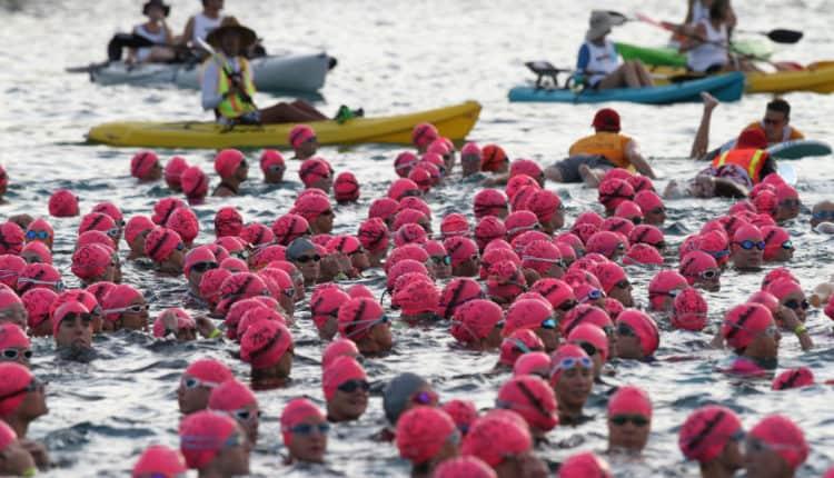 Ironman Schwimmen
