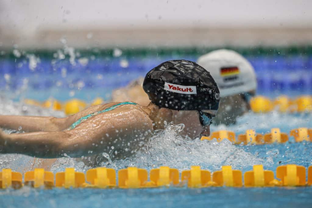 Lisa Höpink und Aliena Schmidtke - 100 m Schmetterling
