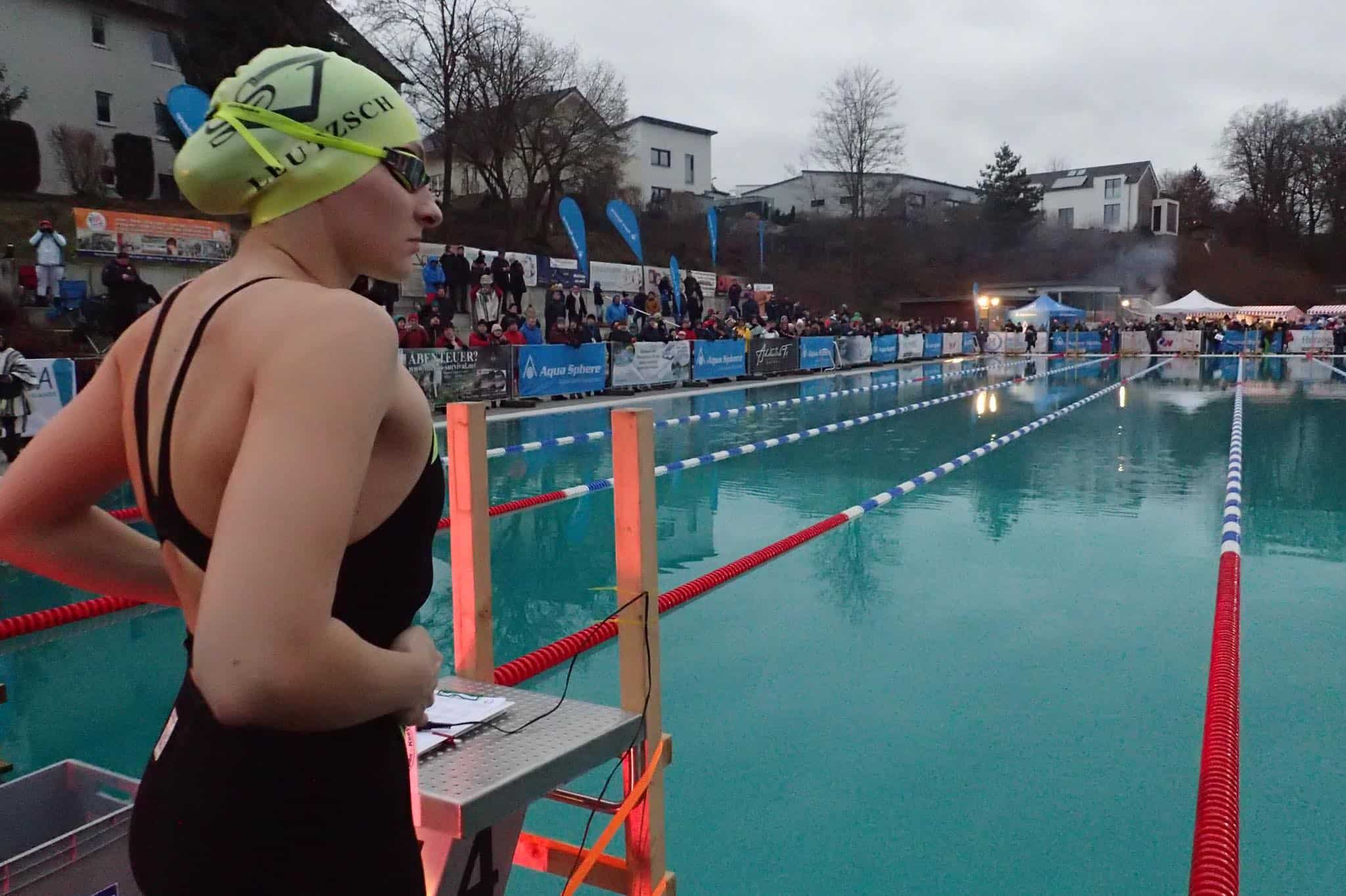 Ice Swimming German Open 2020 in Veitsbronn