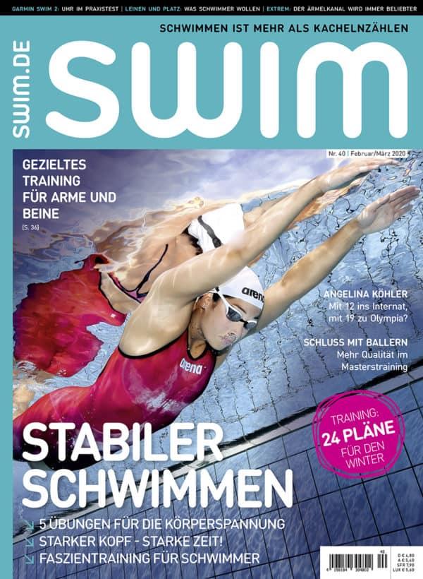 Das Cover der SWIM 40