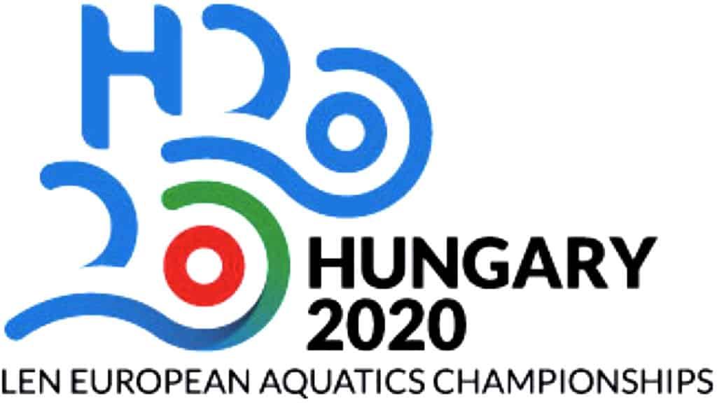 Logo EM 2020 in Budapest