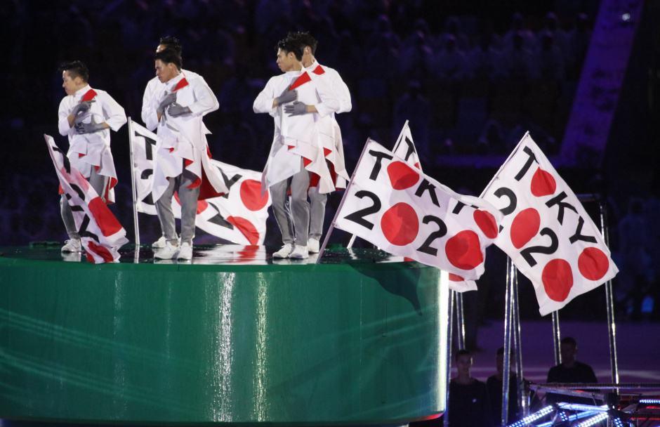 Impression der Olympia-Schlussfeier aus Rio 2016