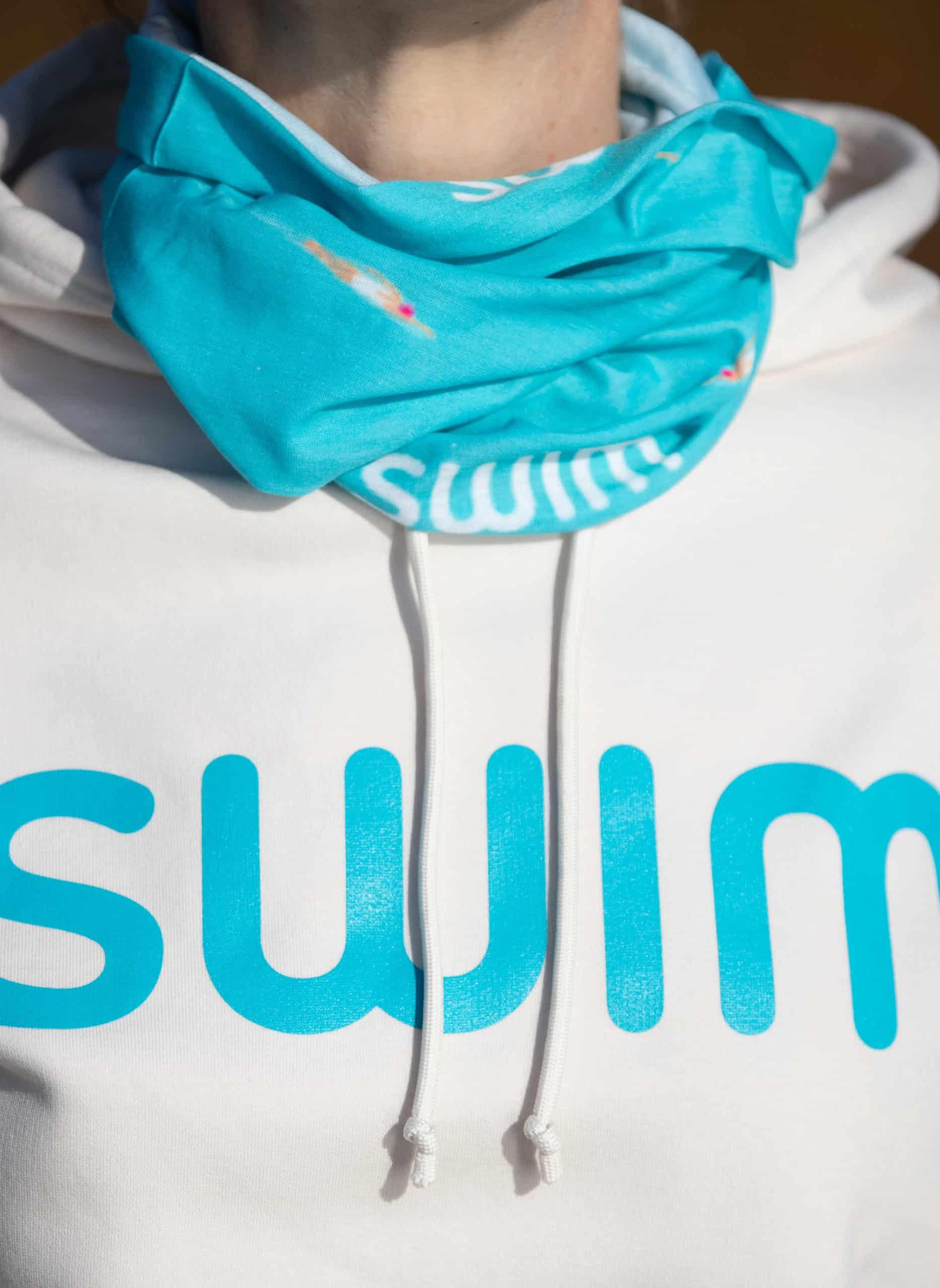 SWIM Hoodie und Multifunktionstuch